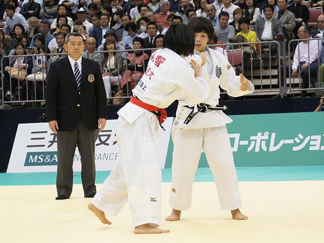 女子63kg級決勝戦 能智亜衣美vs津金恵�A