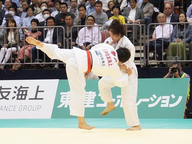 女子70kg級決勝戦 田知本遥vs新井千鶴�A