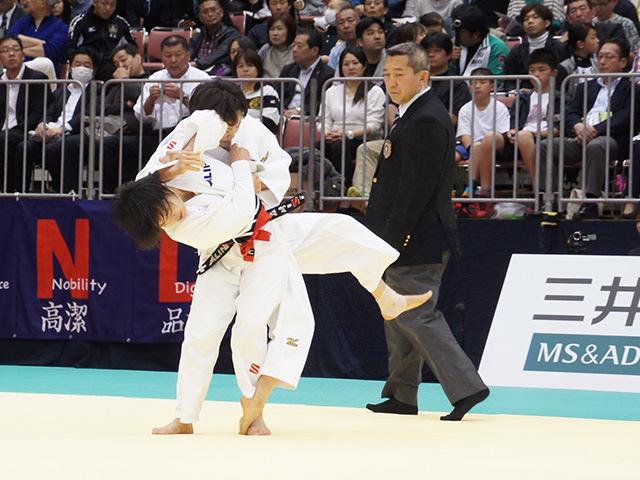 48kg級 森崎由理江 vs 遠藤宏美