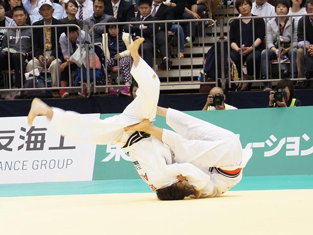 48kg級 近藤亜美 vs 遠藤宏美