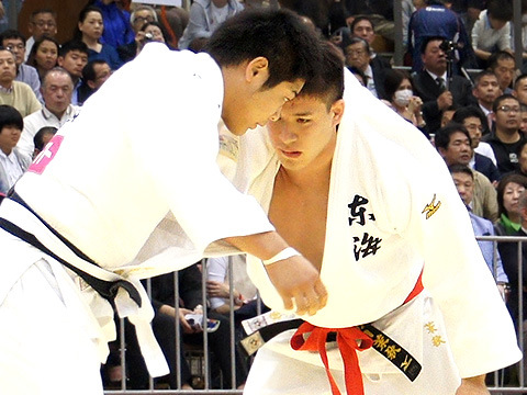 平成28年選抜体重別 準決勝 ベイカー茉秋 vs 長澤 憲大