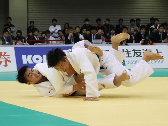 男子73kg級 橋本壮市 vs 立川新
