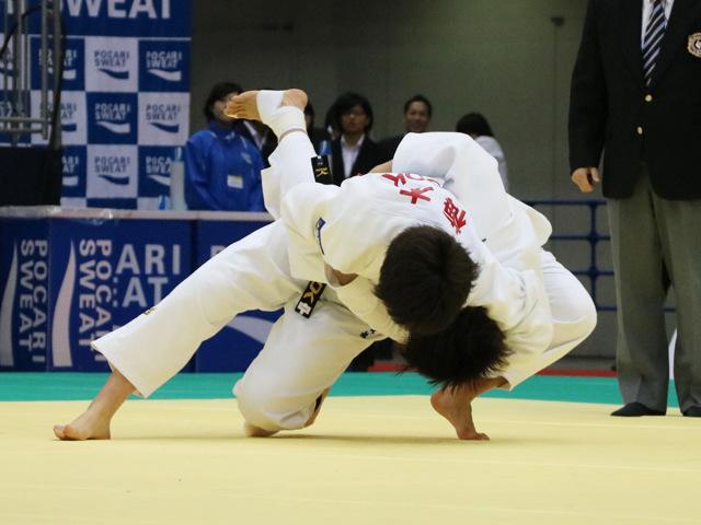 女子78kg級 梅木真美 vs 吉村静織
