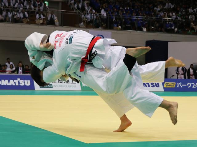 女子78kg級 濱田尚里 vs 梅木真美