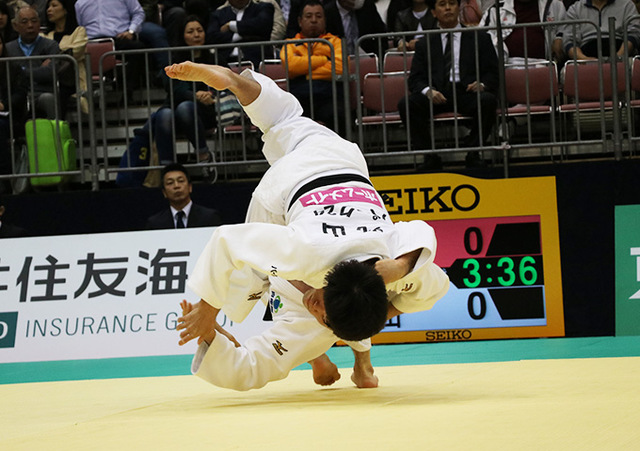男子81kg級 春山友紀 vs 丸山剛毅