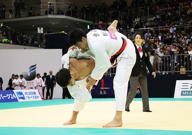 男子81kg級準決勝戦 永瀬貴規vs丸山剛毅�@