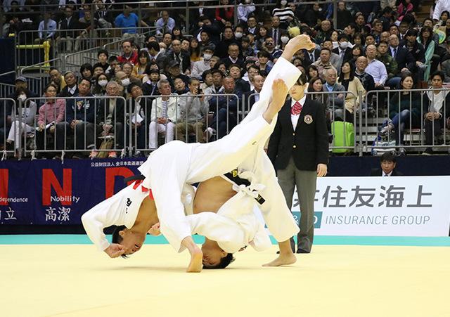 男子81kg級 永瀬貴規 vs 丸山剛毅