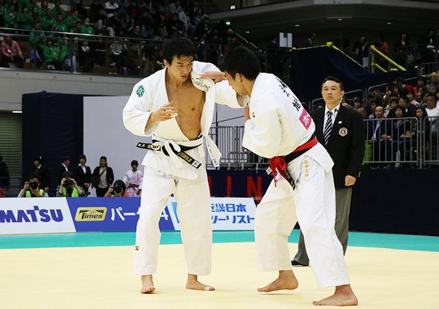 男子81kg級決勝戦 永瀬貴規vs渡邉勇人�@