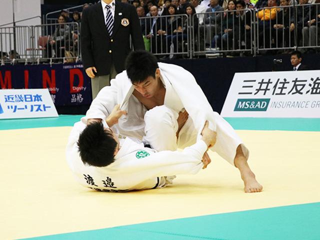 男子81kg級決勝戦 永瀬貴規vs渡邉勇人�A