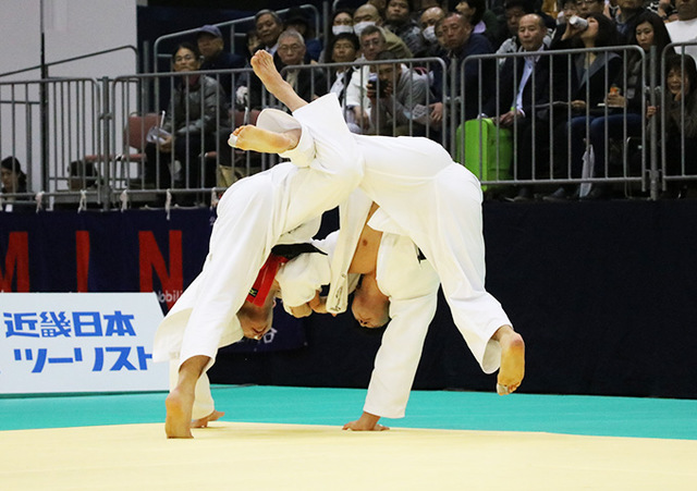 男子81kg級決勝戦 永瀬貴規vs渡邉勇人�B
