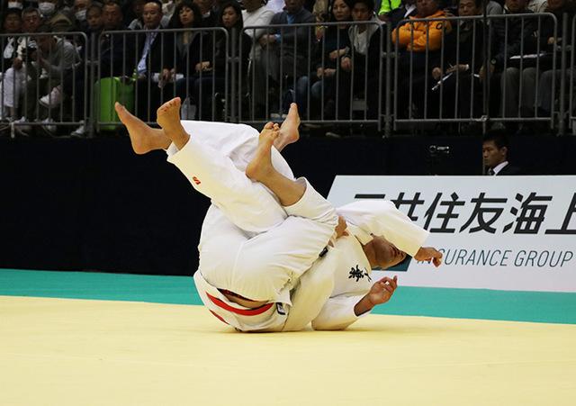 男子90kg級決勝戦 向翔一郎vs加藤博剛�@