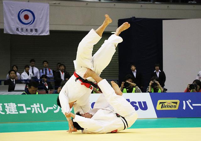 男子90kg級決勝戦 向翔一郎vs加藤博剛�A