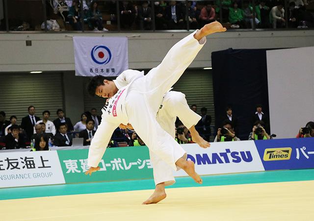 男子90kg級決勝戦 向翔一郎vs加藤博剛�B
