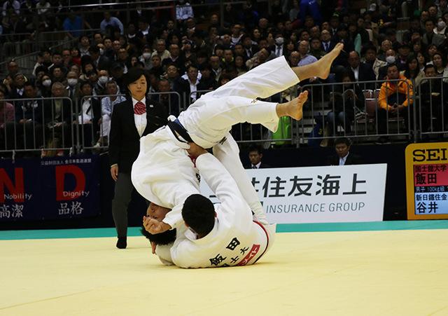 男子100kg級 飯田健太郎 vs 谷井大輝