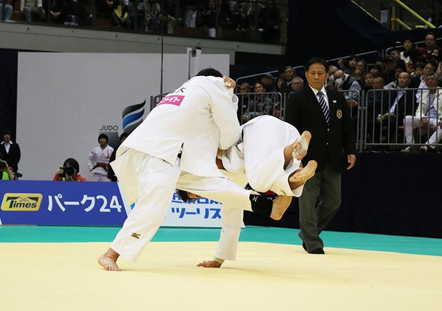 男子100kg級決勝戦 羽賀龍之介vsウルフアロン�A