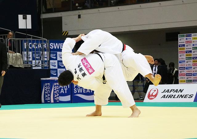 男子100kg超級準決勝戦 王子谷剛志vs太田彪雅