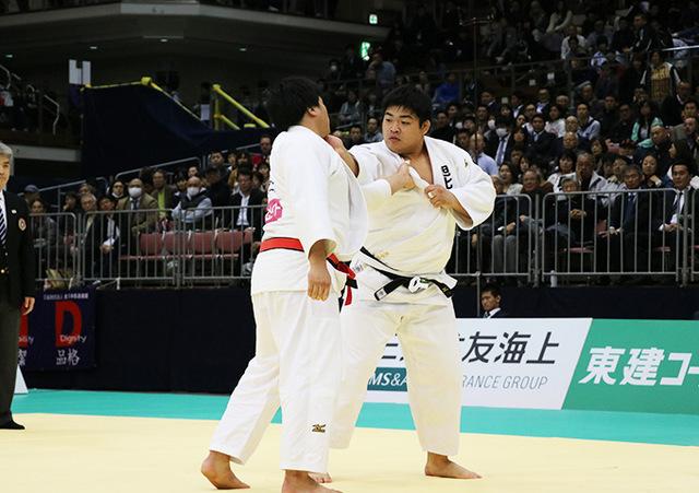 男子100kg超級決勝戦 影浦心vs王子谷剛志�@