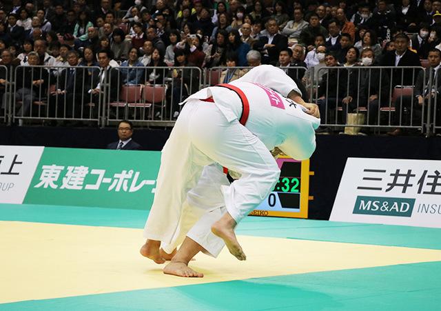 男子100kg超級決勝戦 影浦心vs王子谷剛志�A