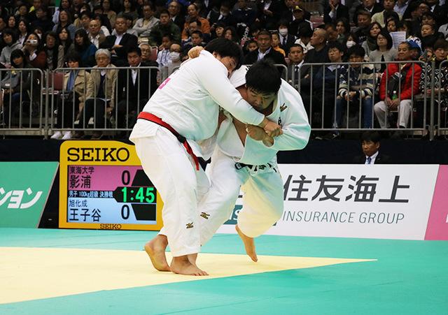 男子100kg超級決勝戦 影浦心vs王子谷剛志�B