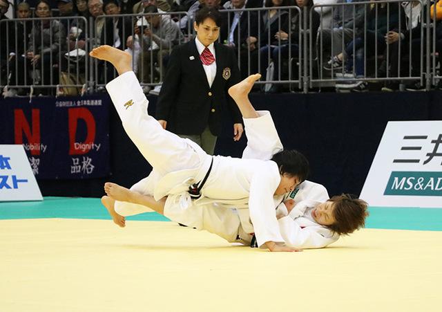 女子48kg級 近藤亜美 vs 渡名喜風南