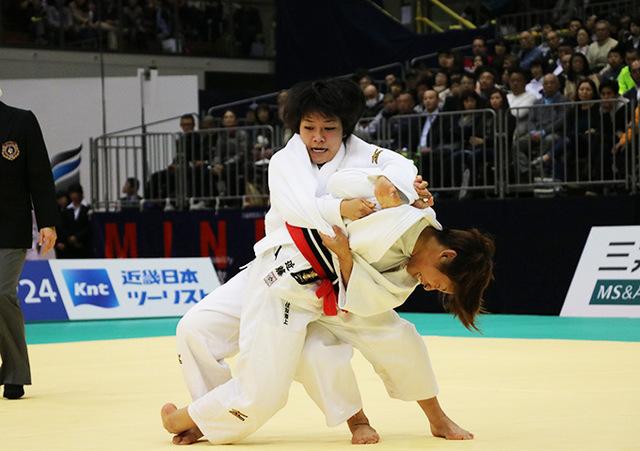 女子48kg級決勝戦 近藤亜美vs渡名喜風南�A