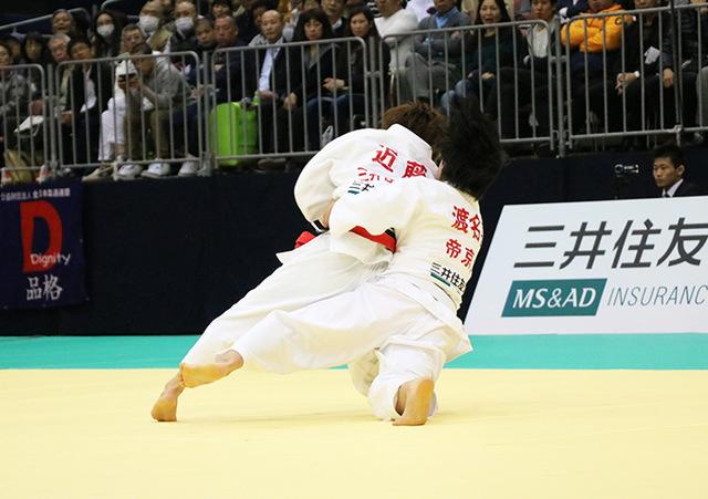 女子48kg級決勝戦 近藤亜美vs渡名喜風南�B