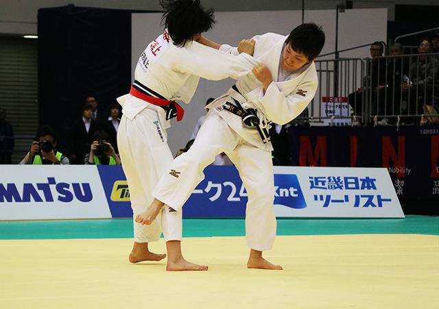 女子57kg級決勝戦 舟久保遥香vs宇高菜絵�@