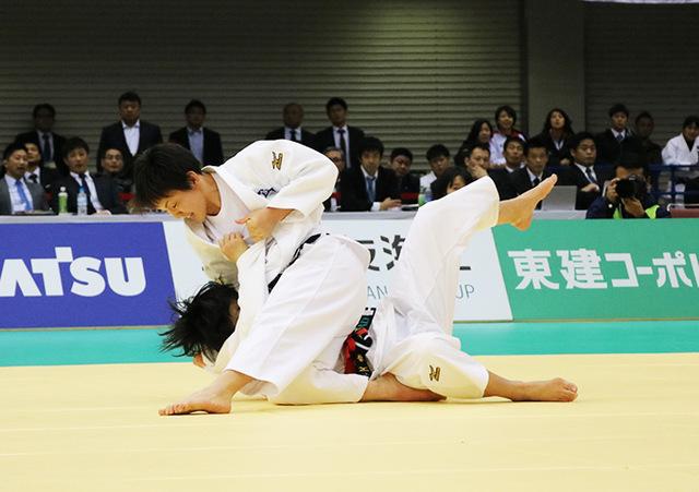 女子57kg級 舟久保遥香 vs 宇高菜絵