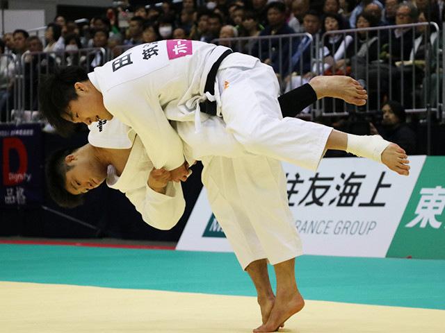 男子66kg級 丸山城志郎 vs 田川兼三