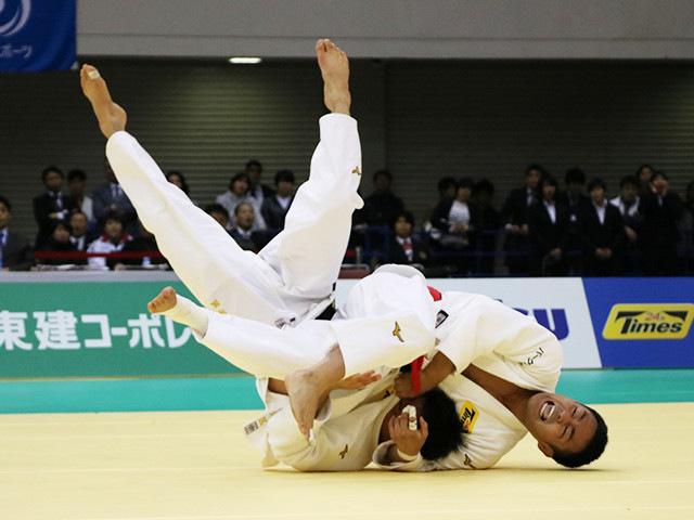 男子73kg級 橋本壮市 vs 海老沼匡