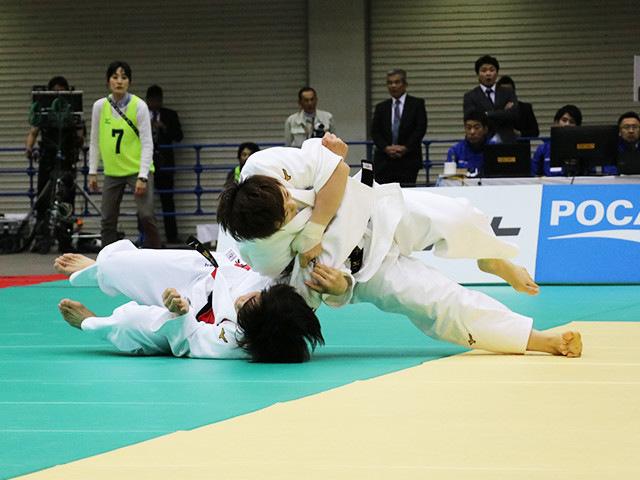 女子70kg級 大野陽子 vs 新井千鶴