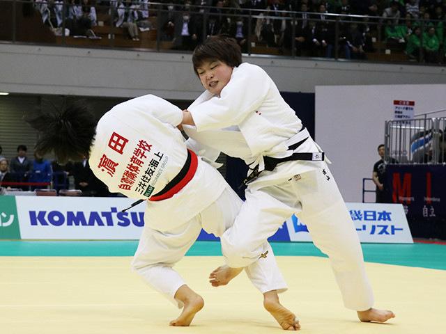 女子78kg級 高山莉加 vs 濱田尚里