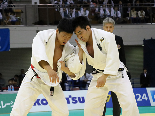 男子81kg級 佐々木健志 vs 藤原崇太郎�@