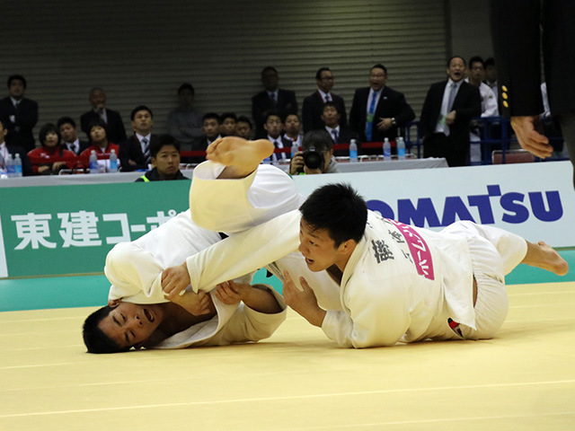 男子81kg級 佐々木健志 vs 藤原崇太郎�A