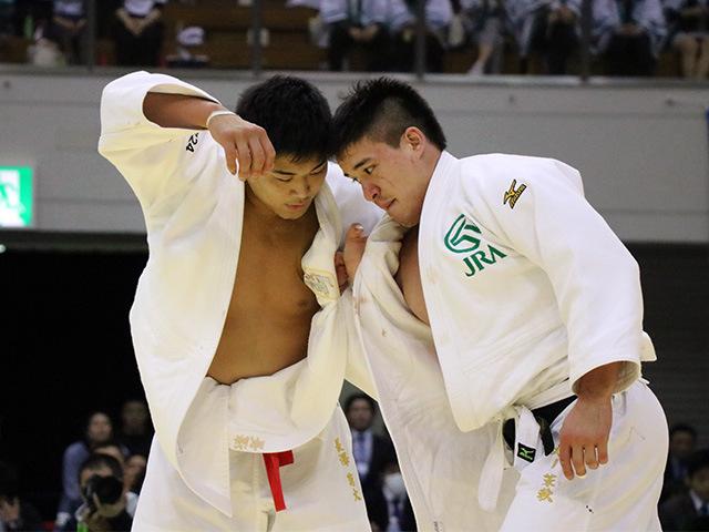 男子90kg級 長澤憲大 vs ベイカー茉秋�@