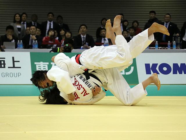 女子48kg級 山崎珠美 vs 遠藤宏美
