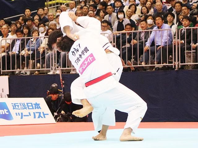 男子100kg級決勝戦 ウルフアロンvs羽賀龍之介�B