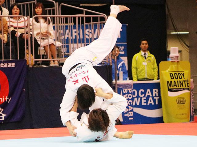 女子63kg級1回戦 土井雅子vs山本杏