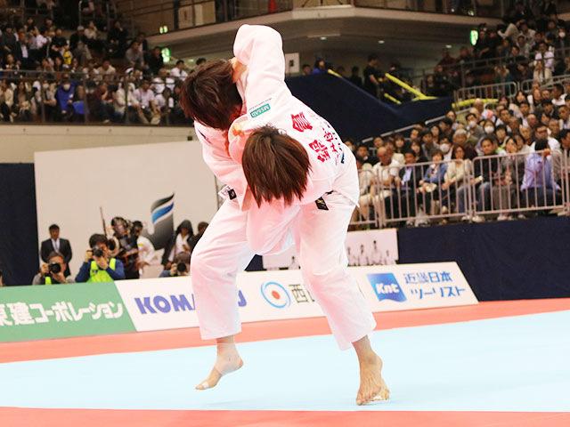 女子63kg級決勝戦 田代未来vs鍋倉那美�A