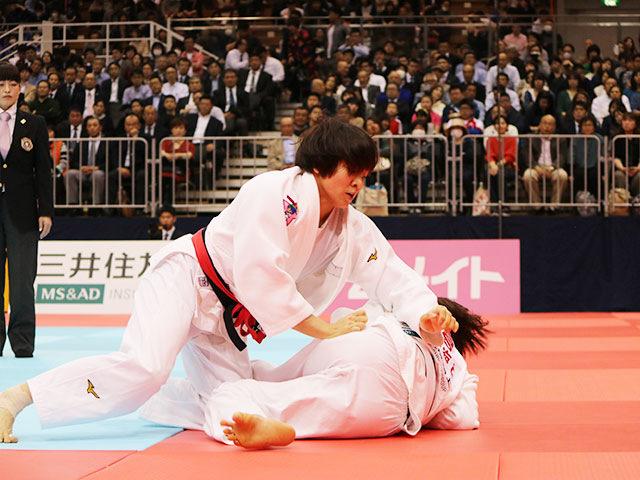 女子63kg級決勝戦 田代未来vs鍋倉那美�B
