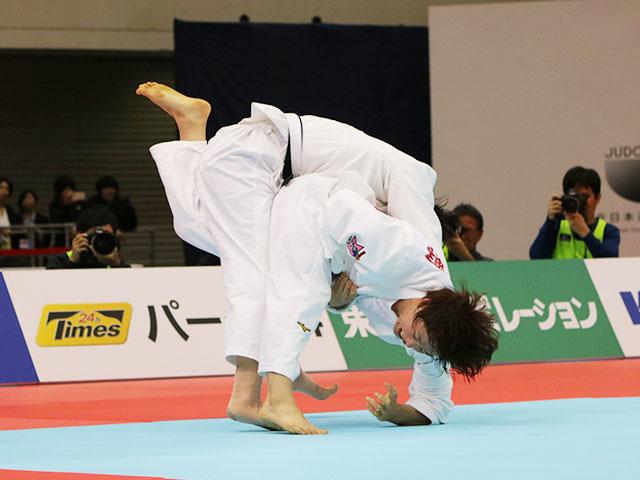 女子70kg級決勝戦 大野陽子vs新添左季�A
