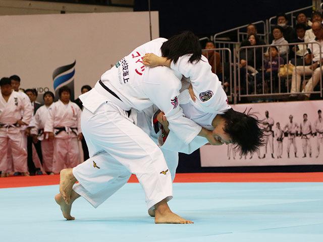 女子78kg級準決勝戦 �M田尚里vs泉真生