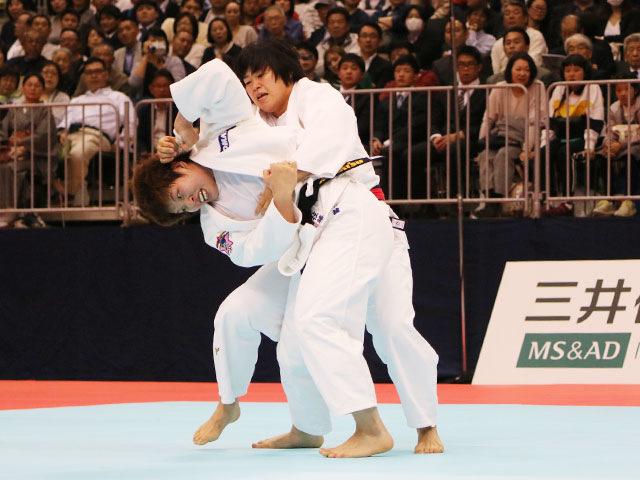 女子78kg級決勝戦 �M田尚里vs佐藤瑠香�@