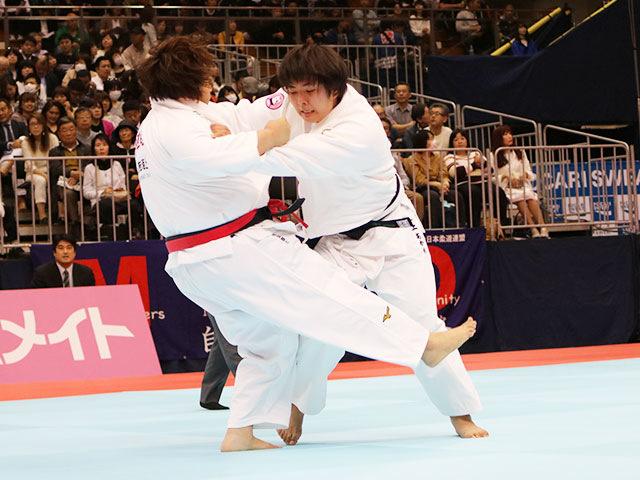 女子78kg超級1回戦 稲森奈見vs井上あかり