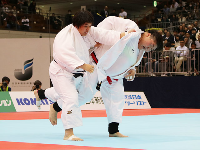 女子78kg超級決勝戦 朝比奈沙羅vs素根輝�@