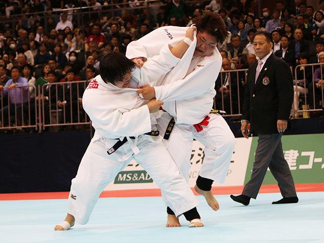 女子78kg超級決勝戦 朝比奈沙羅vs素根輝�A