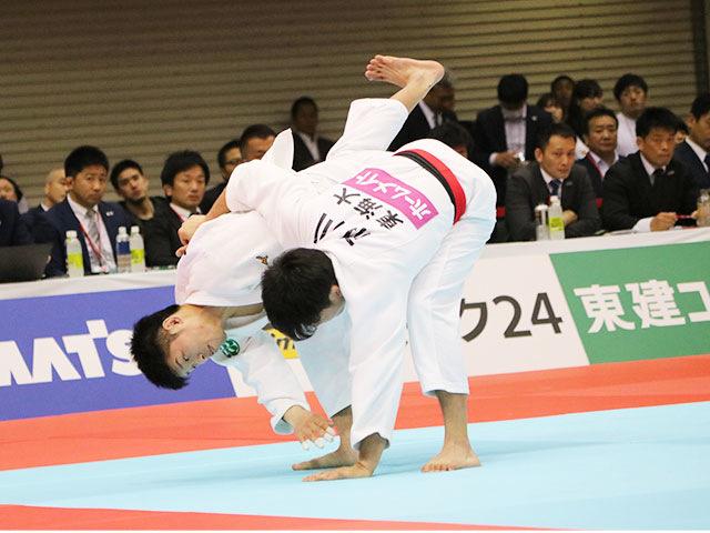 男子60kg級準決勝戦 市川龍之介vs志々目徹