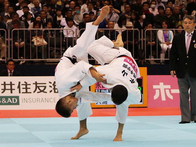 男子60kg級準決勝戦 永山竜樹vs大島優磨