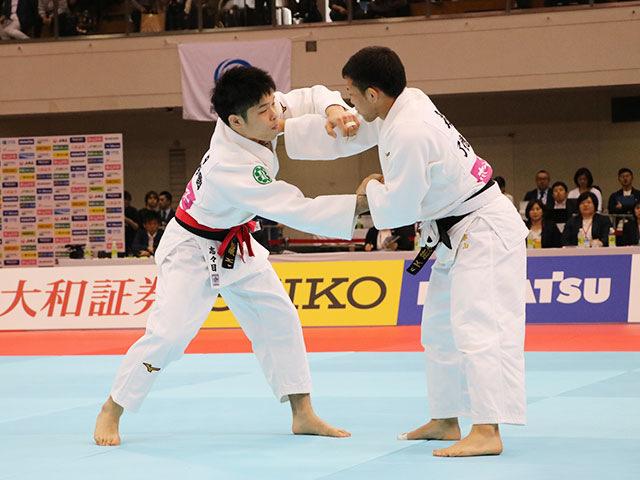 男子60kg級決勝戦 志々目徹vs永山竜樹�@
