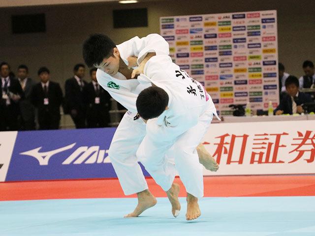 男子60kg級決勝戦 志々目徹vs永山竜樹�A
